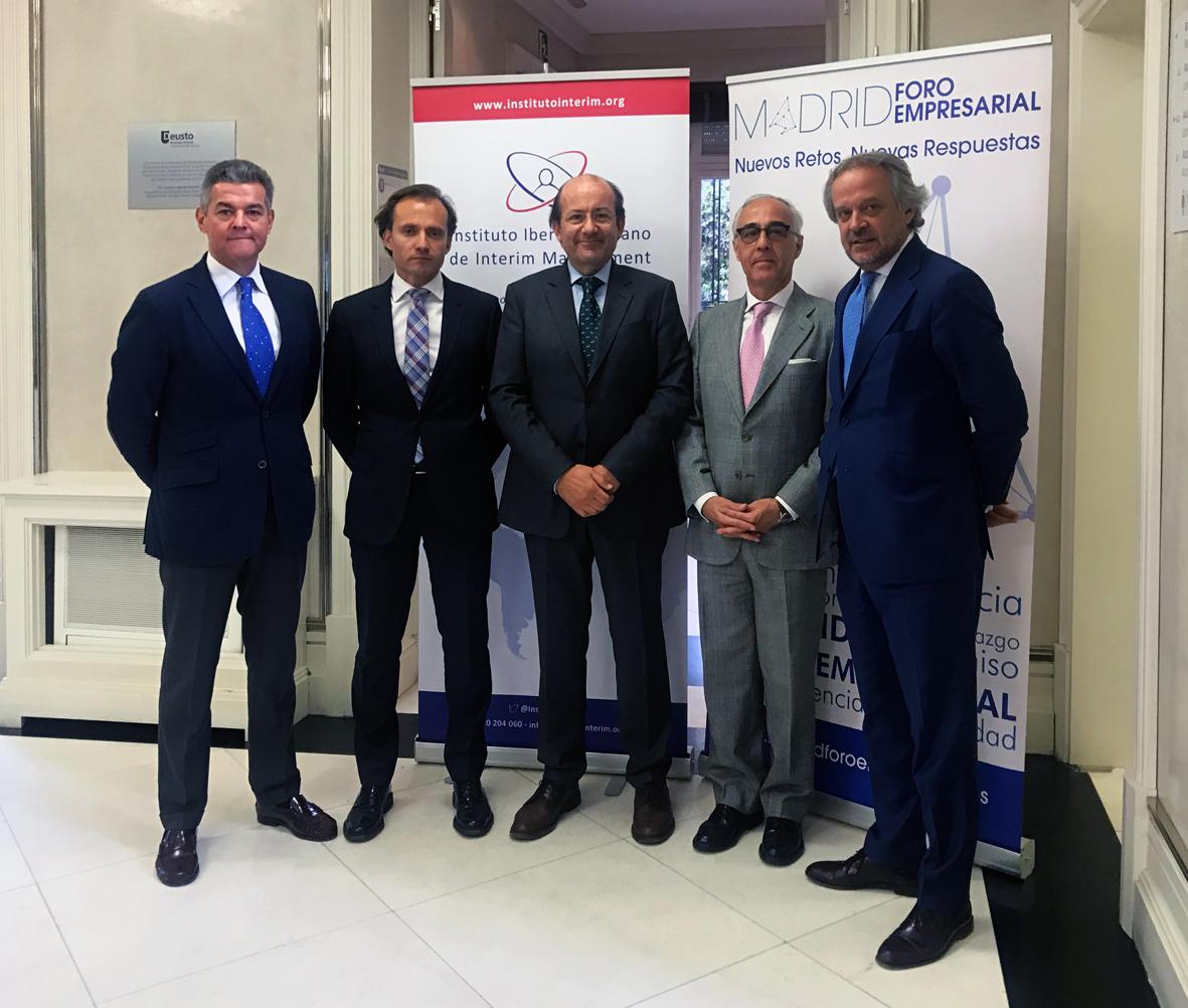 Acuerdo de colaboración: Instituto Iberoamericano de Interim Management & Madrid foro empresarial