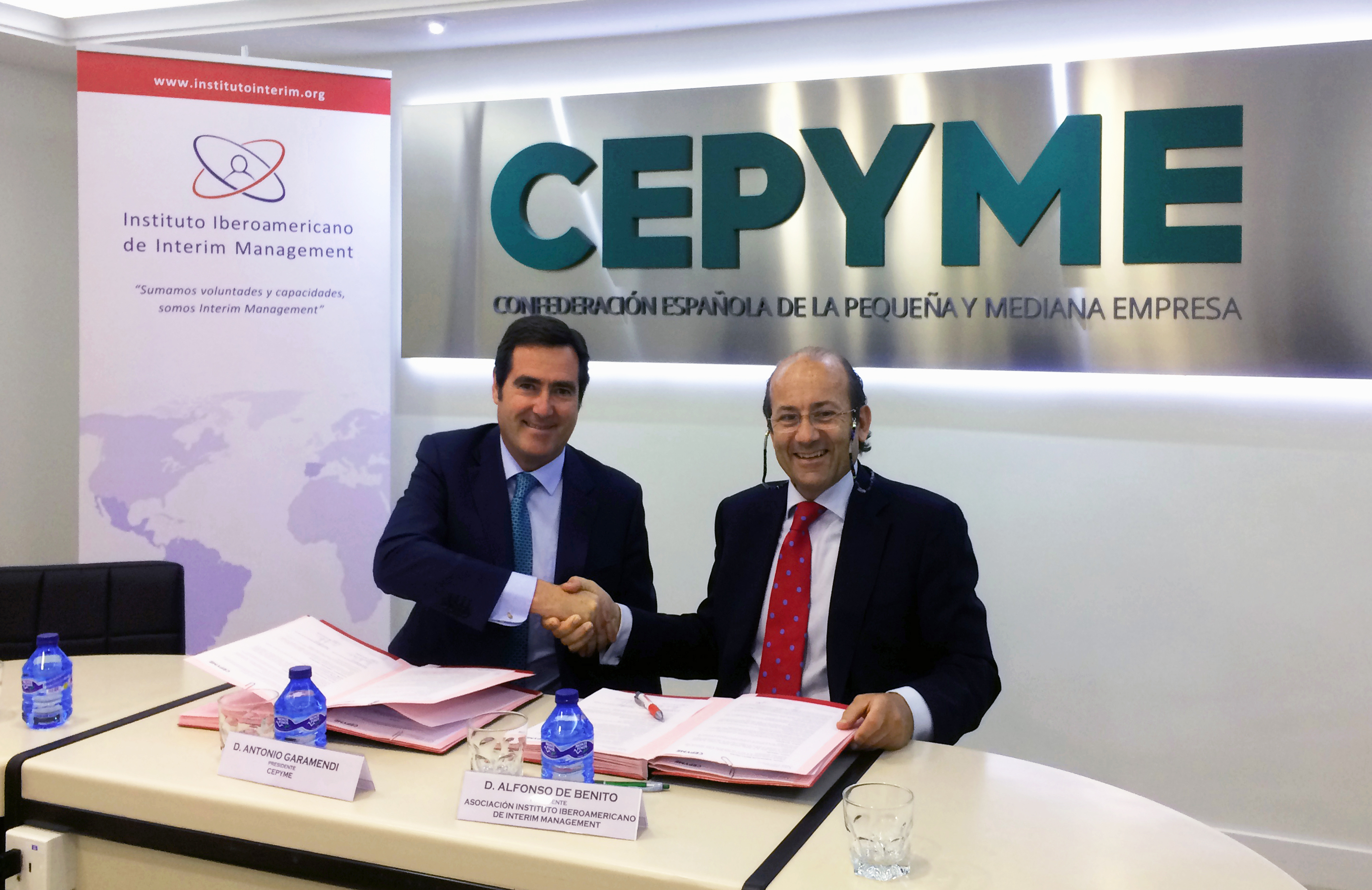 Acuerdo de colaboración entre CEPYME y el Instituto Iberoamericano de Interim Management